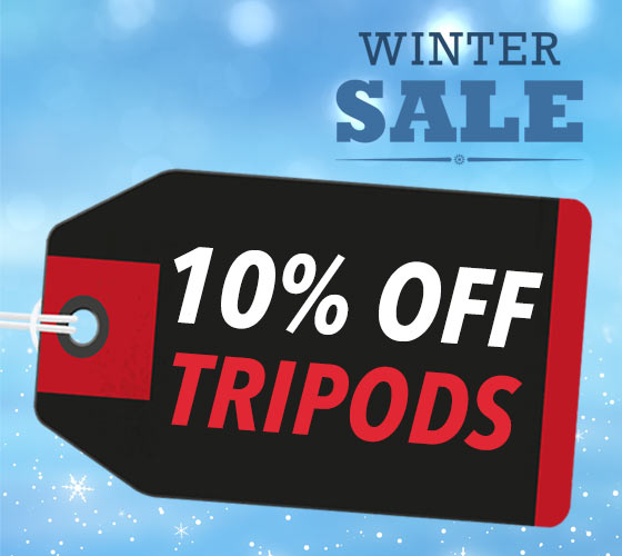 10% OFF ALL TRIPODS