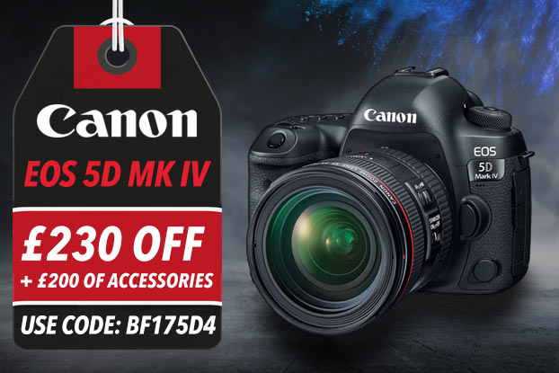 CANON EOS 5D MK IV - £230 OFF WITH CODE BF175D4 + £200 WORTH OF ACCESSORIES