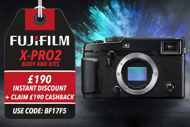 Fujifilm X-Pro 2 Body Only - £190 INSTANT DISCOUNT + CLAIM £190 CASHBACK - USE CODE BF17F5