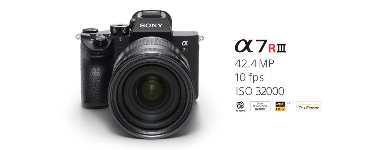 Sony Announces A7R III with big improvements