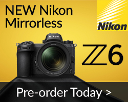 Pre-order the Nikon Mirrorless Z 6 Camera Today
