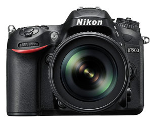 Image of the Nikon D7200 With 18-105mm Lens Kit