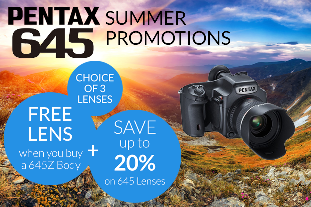 Pentax 645 Summer Promotions