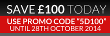 save £100 today