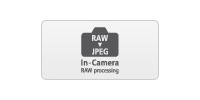 Edit and process RAW images in camera