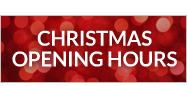 christmas opening hours 2014