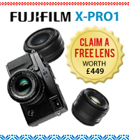 fujifilm x-pro 1, claim a free lens with fuji xpro 1 at clifton cameras