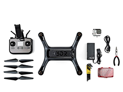 3DR Solo with common tools & accessories