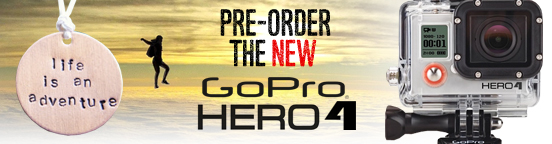 Pre Order the new GoPro4 today!