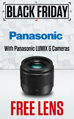 Panasonic Lumix G Lenses with Free Lens