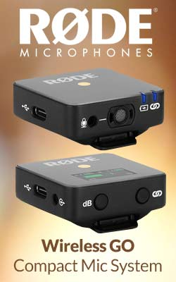 Rode Wireless GO Compact Mic System