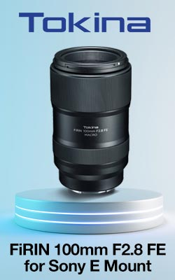 Tokina FiRIN 100mm F2.8 FE for Sony E Mount
