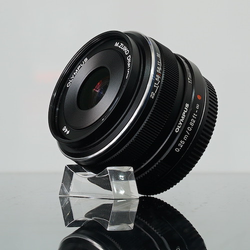Used Olympus 17mm f1.8 M.ZUIKO