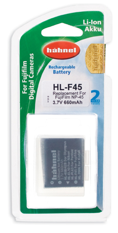 Hahnel HL-F45 Battery - For Fuji