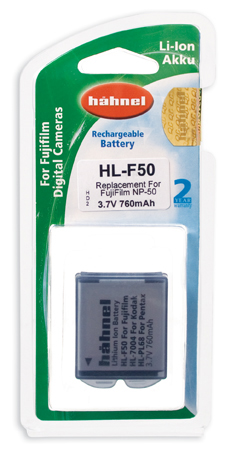 Hahnel HL-F50 Battery - For Fuji