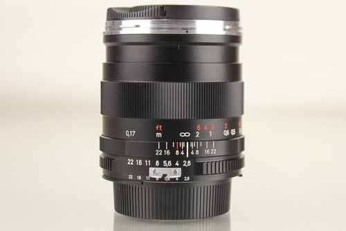 Used Zeiss T* F2.8 25mm ZF