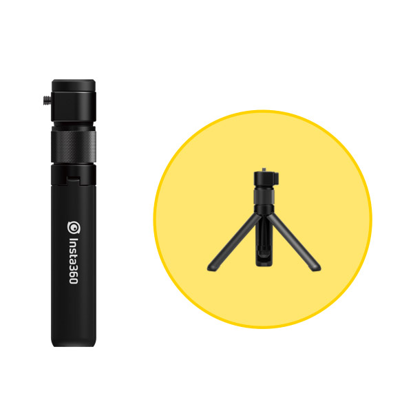 Insta360 One X Bullet Time Handle/Folding Tripod