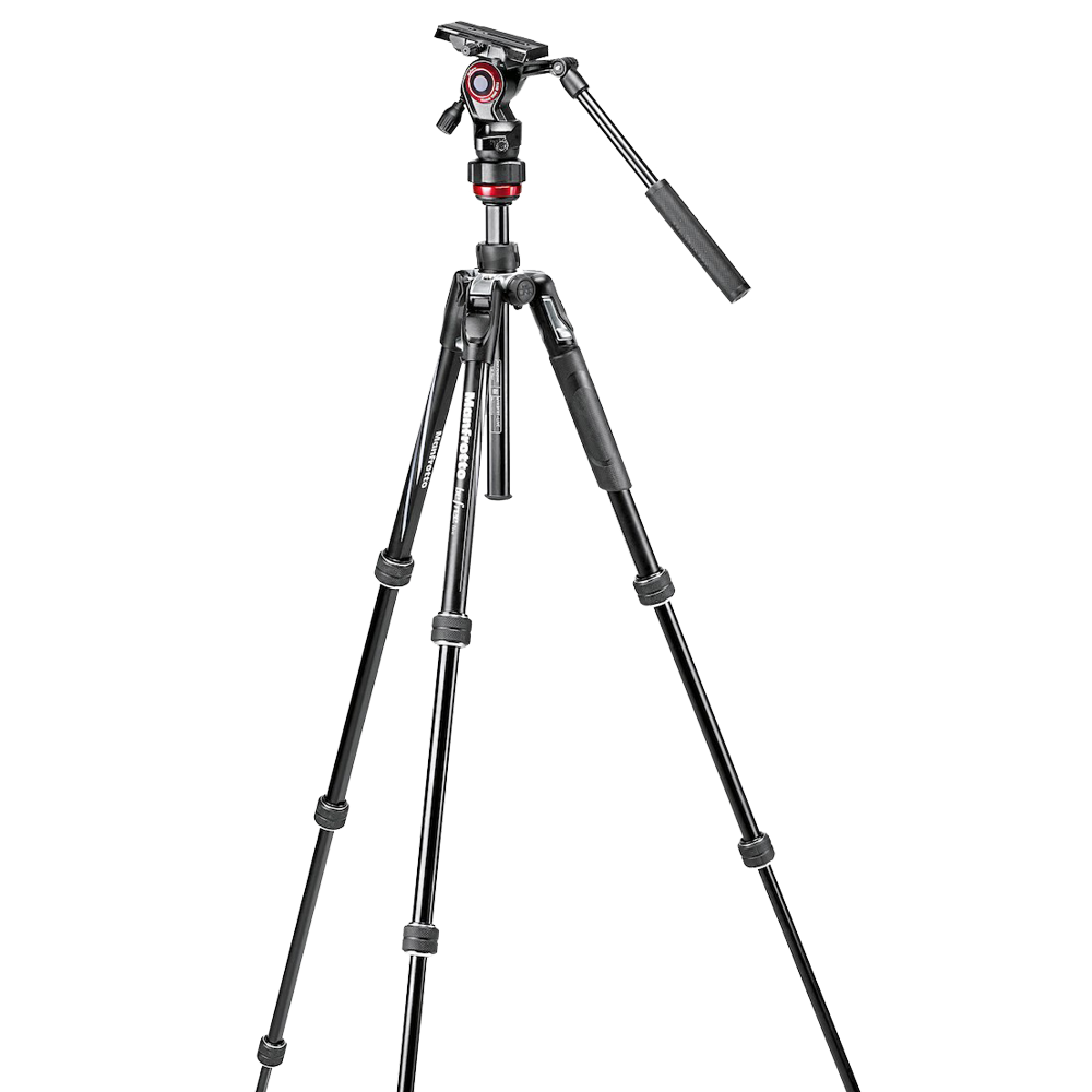 Manfrotto Befree Live Aluminium Tripod with Video Head - Twist