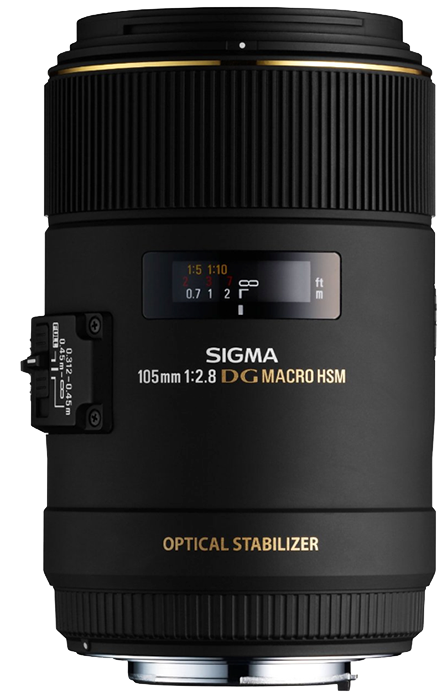Sigma 105mm f2.8 EX DG OS HSM MACRO - Canon Fit