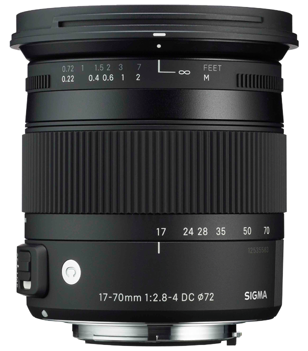 Sigma 17-70mm f2.8-4 DC Macro OS HSM C - Canon Fit
