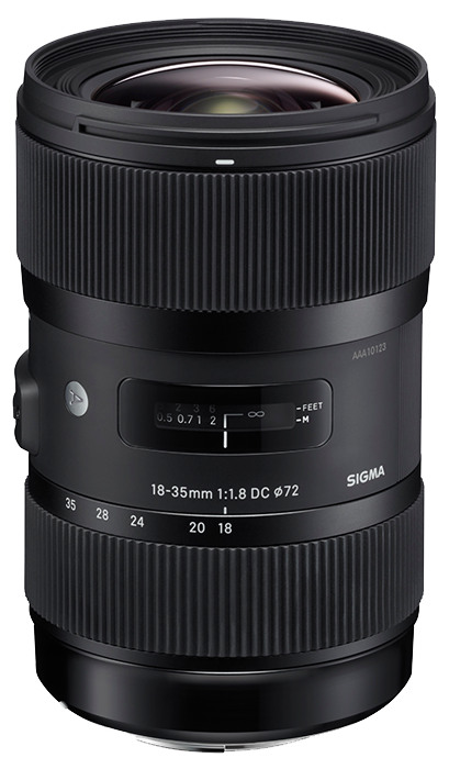 Sigma 18-35mm F1.8 DC HSM | A - Sony A Mount