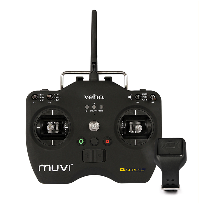 Veho Muvi Q-1 Professional Drone with K-2 SPORT Wi-Fi Handsfree Camera Kit