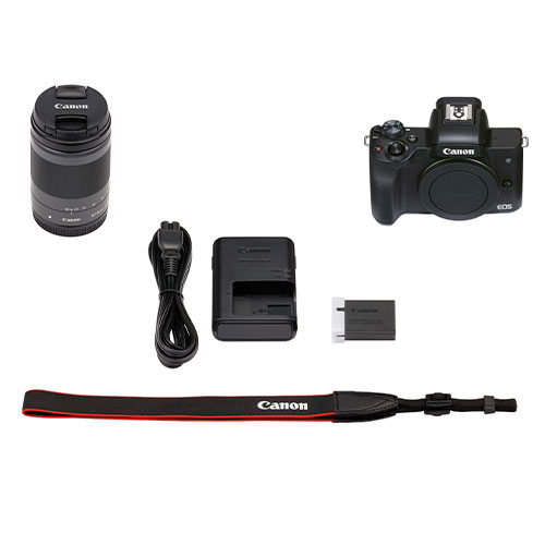 Canon M50 Mark II with EF-M 18-150mm Lens