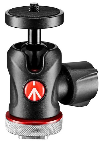 Manfrotto Micro Ball Head with Cold Shoe Mount