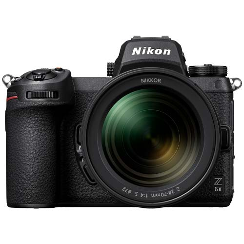 Nikon Z 6 II Mirrorless Camera with NIKKOR Z 24-70mm f4 S Lens
