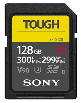 Sony Tough 128GB UHS-II SDXC Memory card