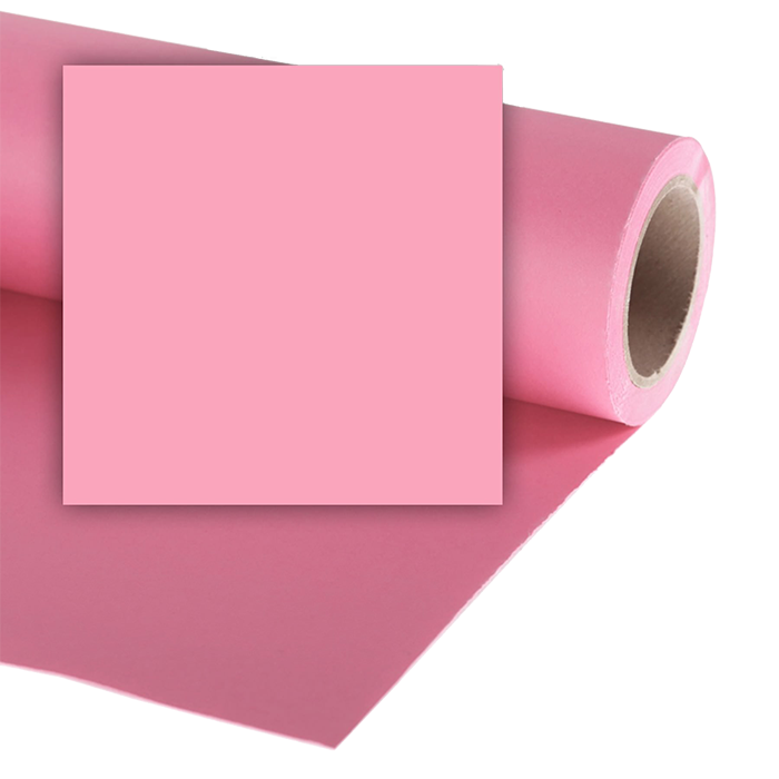 Colorama 1.35 X 11M Background Paper - Carnation