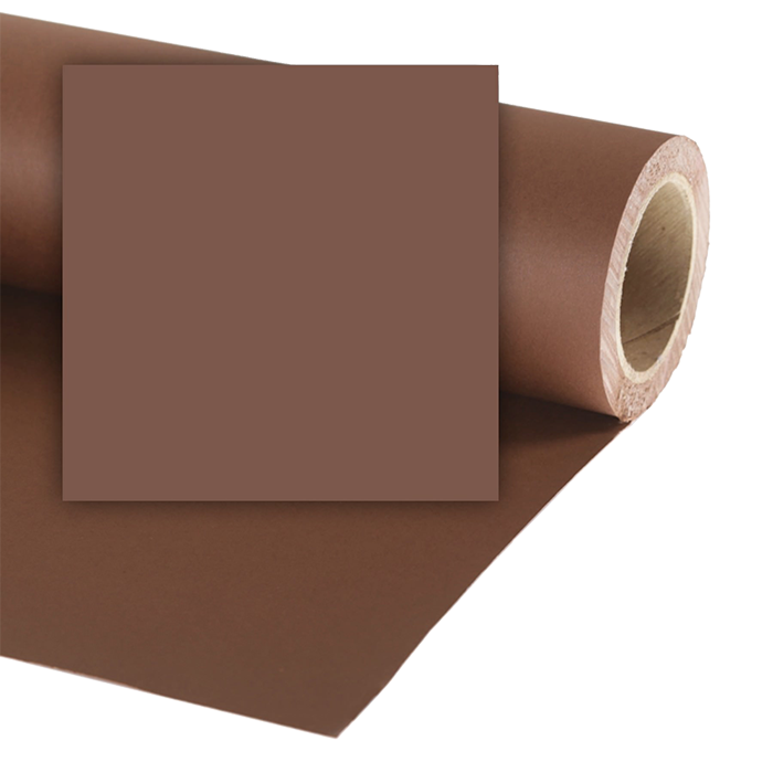 Colorama 1.35 X 11M Background Paper - Peat Brown