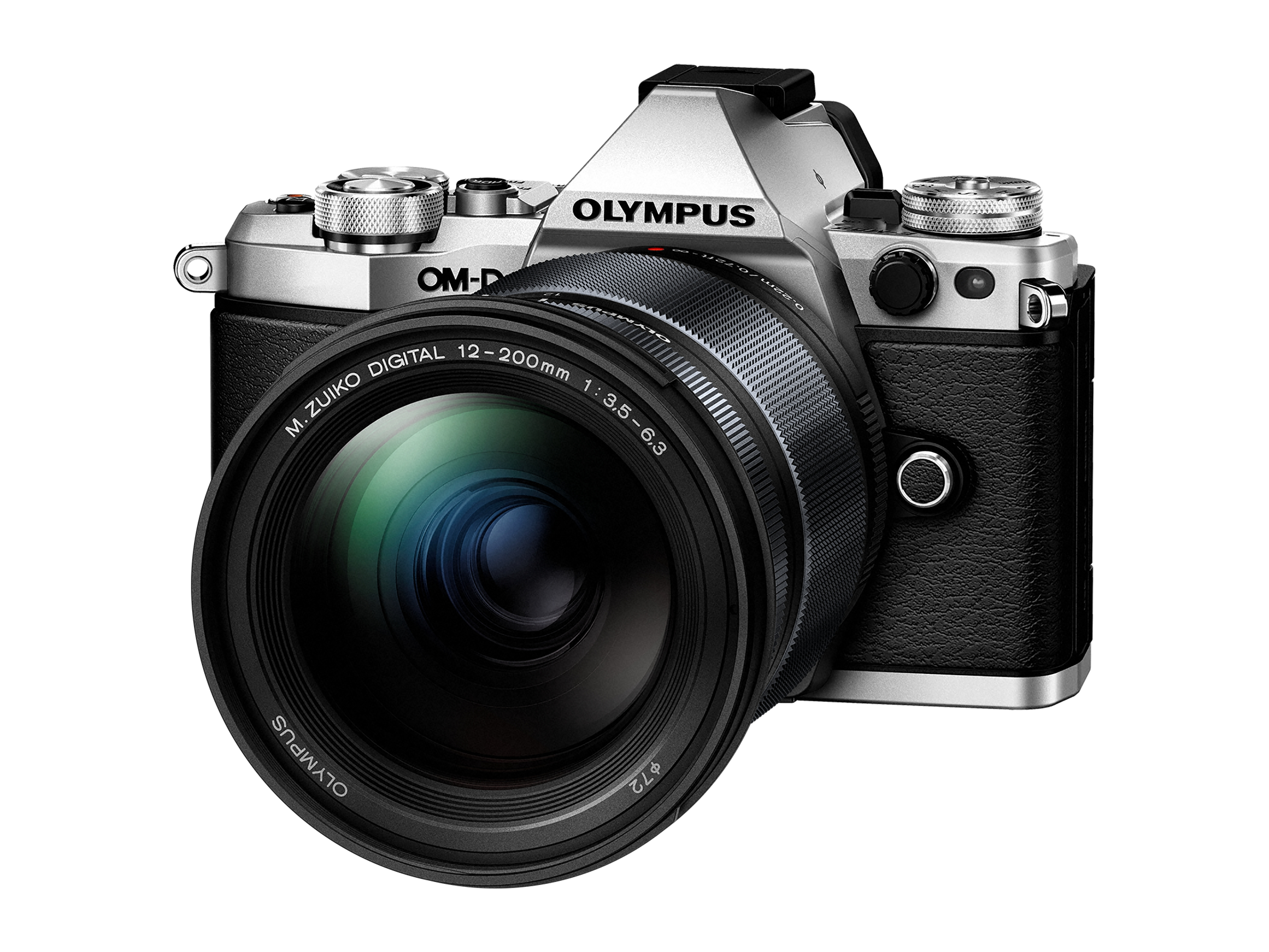 Olympus OM-D E-M10 Mark III with 12-200mm F3.5-6.3 M.Zuiko Lens Kit - Silver