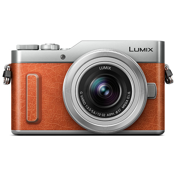 Panasonic Lumix GX880 Digital Camera with 12-32mm Lens - Tan