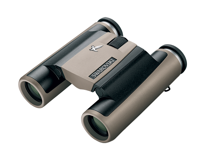 Swarovski CL 10x25 Pocket Binoculars - Sand-Brown