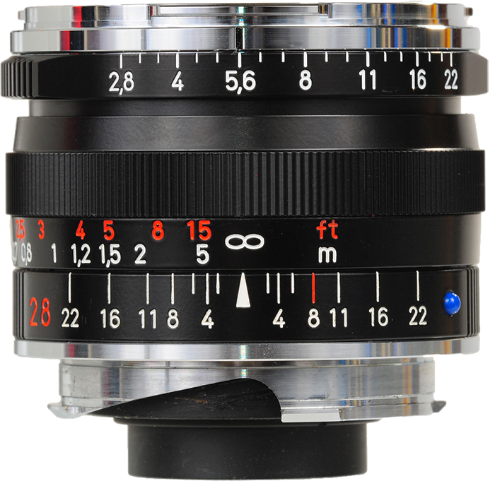 Zeiss Biogon T* F2.8 28mm ZM Leica Fit - Black
