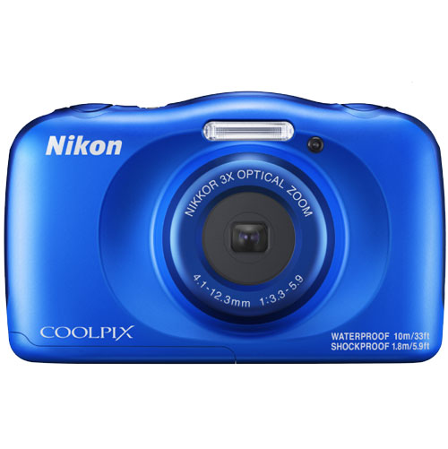 Nikon Coolpix W150 Backpack Kit - Blue